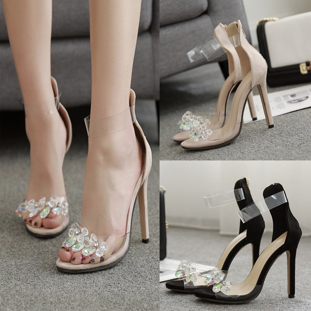 Fashion Rhinestone Sandals