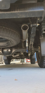 Isuzu DMAX 2012+ Dump Pipe Back Exhaust