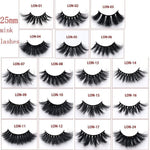 Luxury invisible thin band stage lashes curl soft eye extensions circle rose box