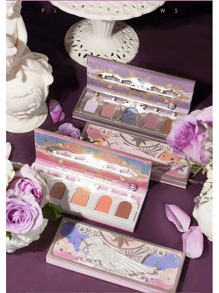 Unicorn Eyeshadow Palette 5 Colors Matte /Glitter Flower Knows - Neshaí Fashion & More