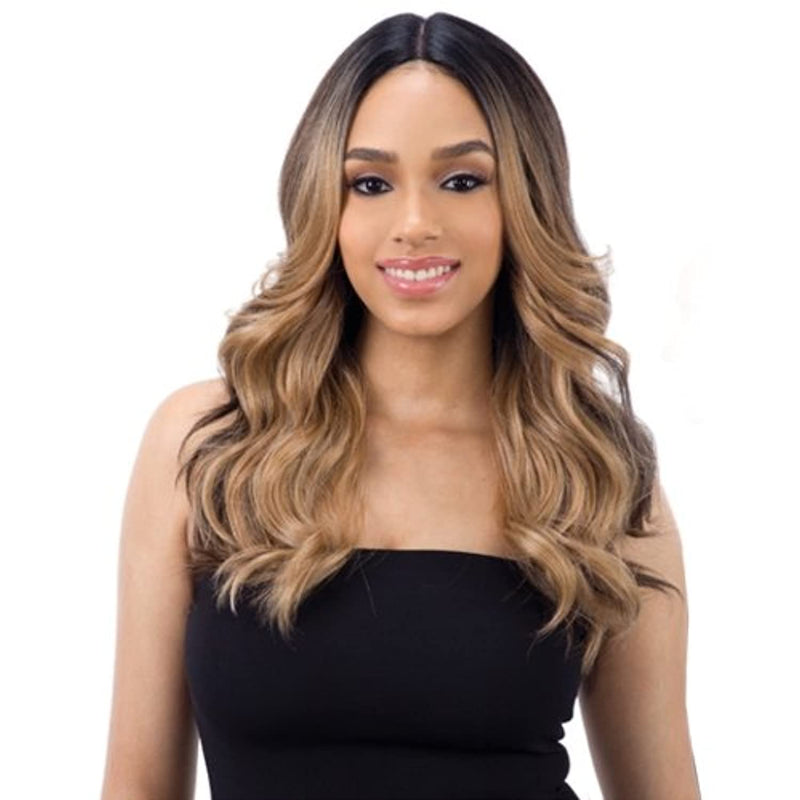 "FreeTress Equal Synthetic Hair Wig Lace 5"" Deep Part Lace Valentino (FFHOTCHOCO)"