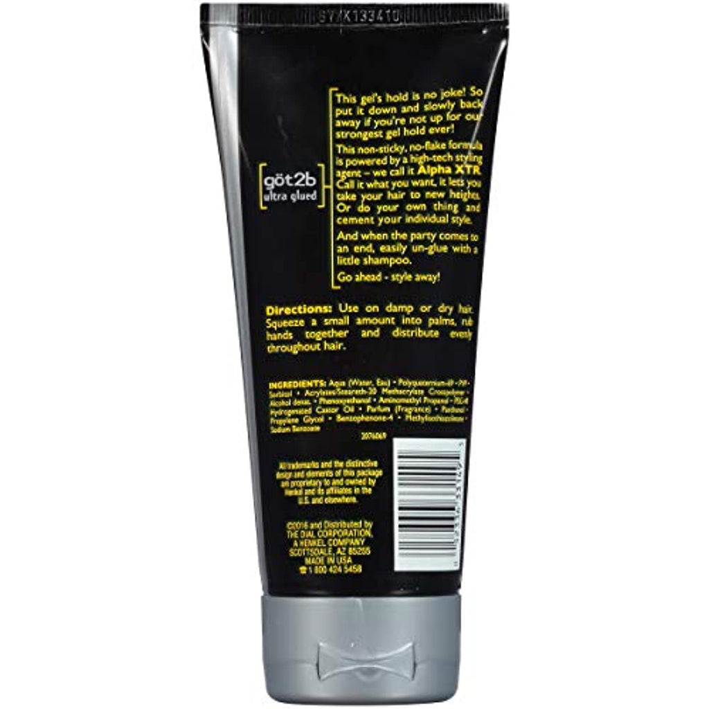 Invincible Styling Hair Gel, 6 Ounce (Pack of 3)