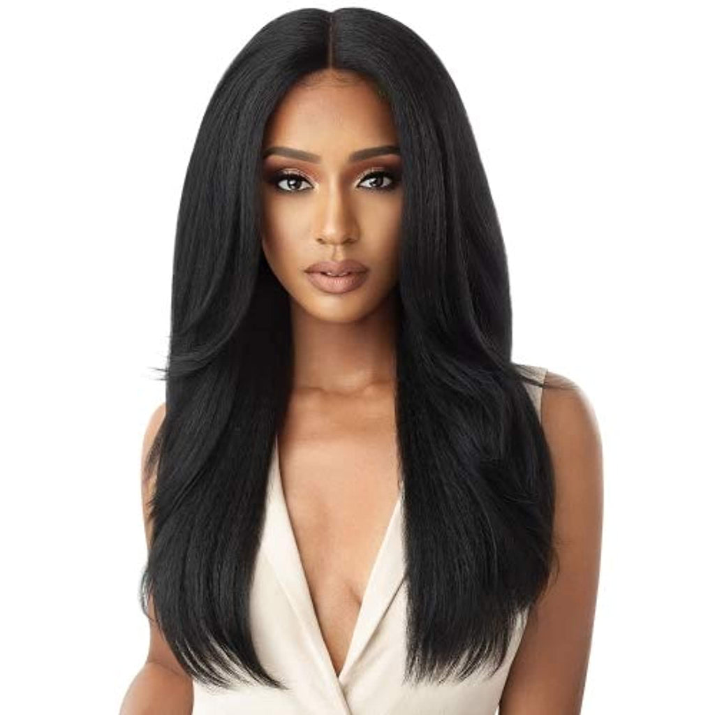 Outre Neesha Soft & Natural Synthetic Swiss Lace Front Wig NEESHA 203 (DRFF2/CINSP)
