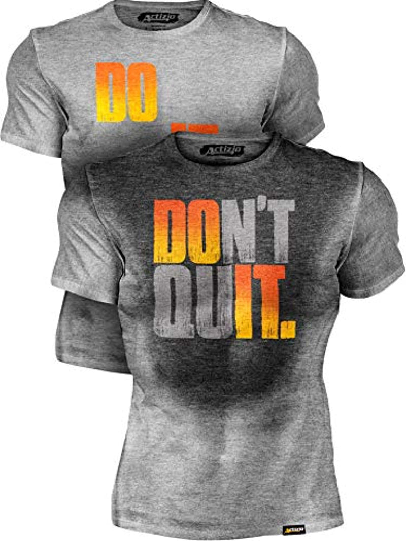 Motivational Workout Shirt, Do It - Don't Quit