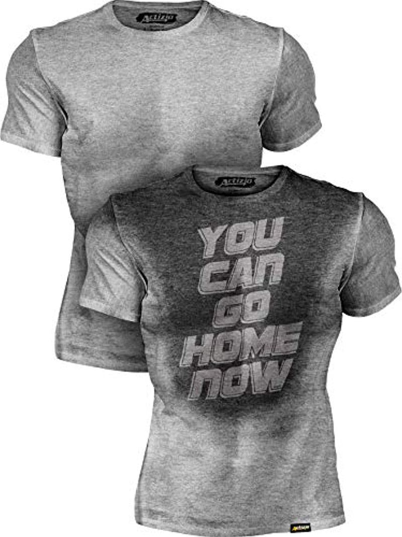 You Can Go Home Now gym T - Neshaí Fashion & More