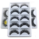 2Tray/Lot 3D Real  False Eyelashes