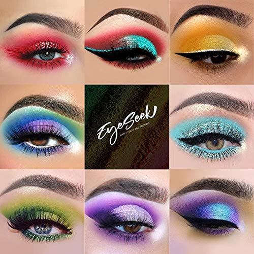 64 Colors Eyeshadow Palette Colorful Rainbow