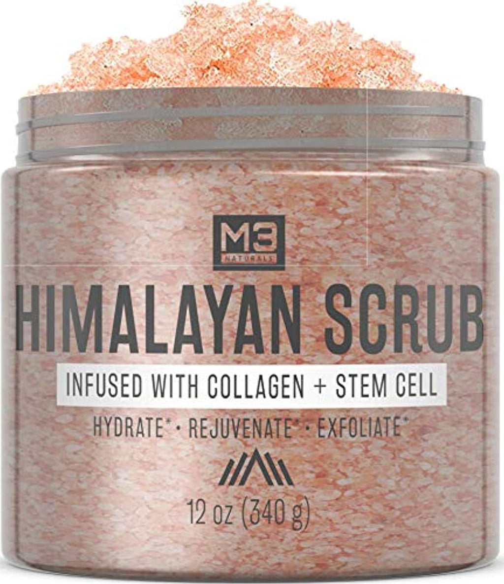 Himalayan Salt Scrub Infused Exfoliating Body Souffle