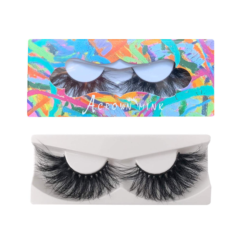 5D 25mm Lashes Mink Full Volume Cruelty-free Siberian