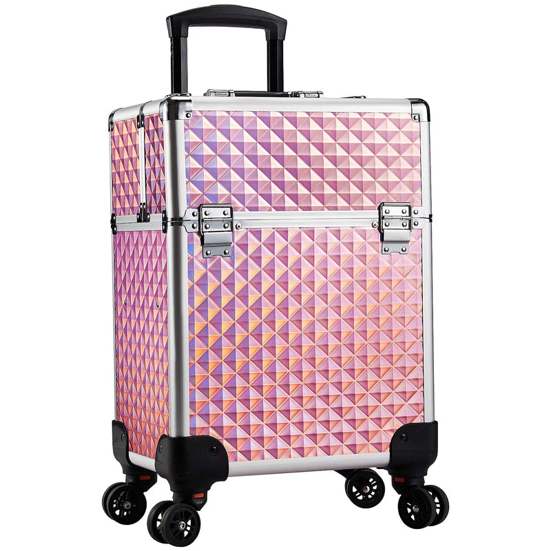 Stagiant Rolling Makeup Trolley 4 Tray iamond - Neshaí Fashion & More