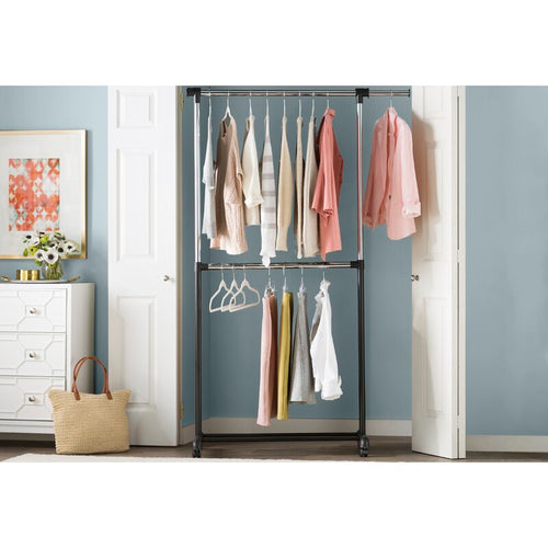 "Basics 60""W Garment Rack"
