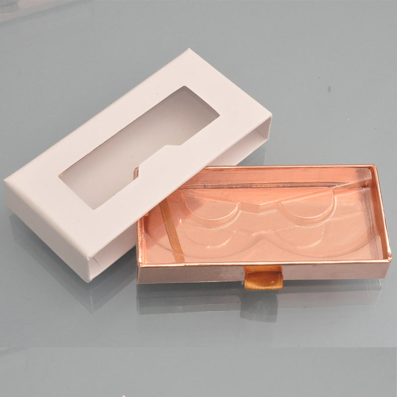 100pcs False Eyelash Packaging Box customized case Empty