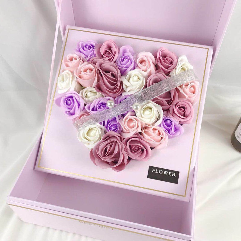 Surprise  Artificial Roses Gift