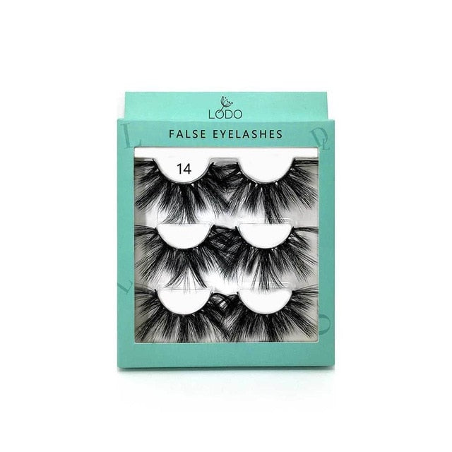Handmade Wispy Fluffy Long Lashes