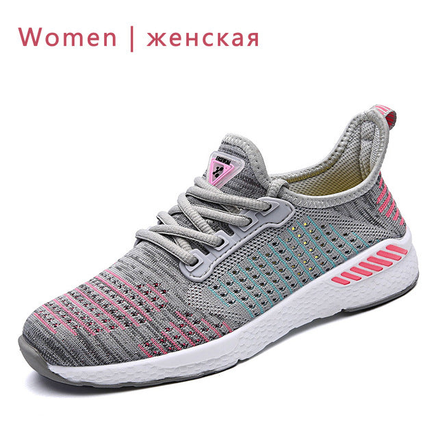Lightweight Comfortable Breathable Couple Walking Sneakers Feminino Zapatos - Neshaí Fashion & More