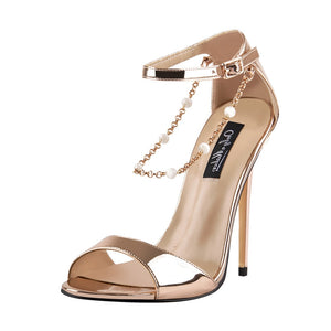 Beaded Strappy Stilettos 12cm