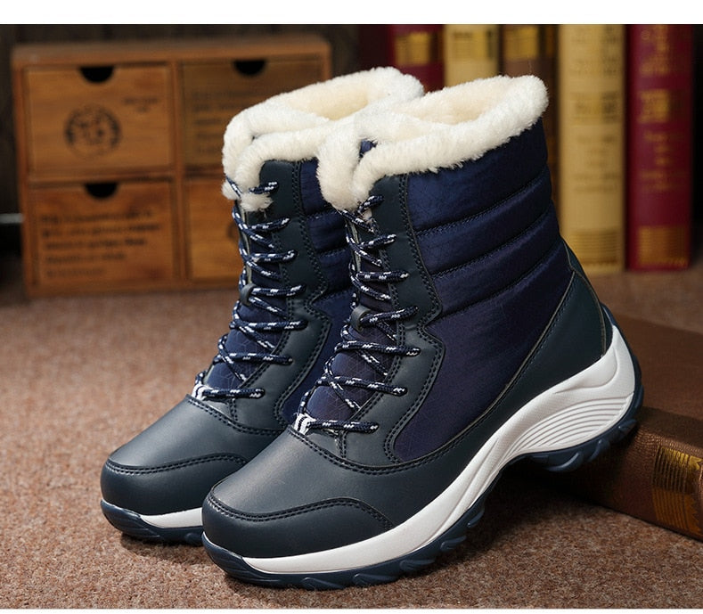 Winter Climbers Fur lined boots