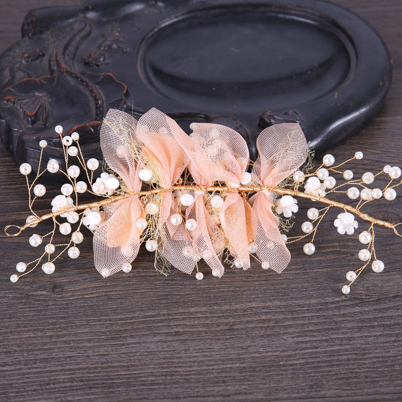 Fairy flower Hair Jewelry Ornaments