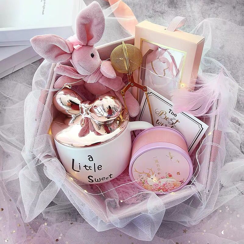 Ceramic cup gift box