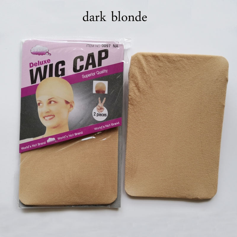 30PCS (15bag)Stocking Wig Cap Fashion Stretchable Mesh Wig Cap  Mesh Weaving Black Brown Beige Wig Hair Net Making Caps Hairnets - Neshaí Fashion & More