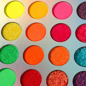 Aurora  Fluorescent Eyeshadow Pallete