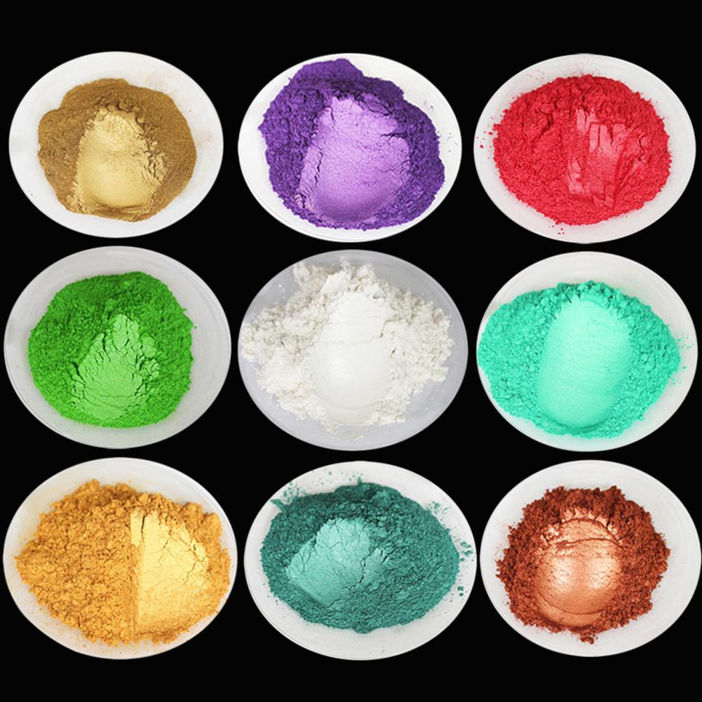 Natural Mineral Mica Powder DIY Pigment Colorant Makeup Eyeshadow Soap Powder For Lips Make Up