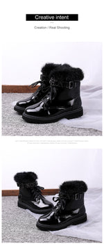 Lace Up Martin Boots