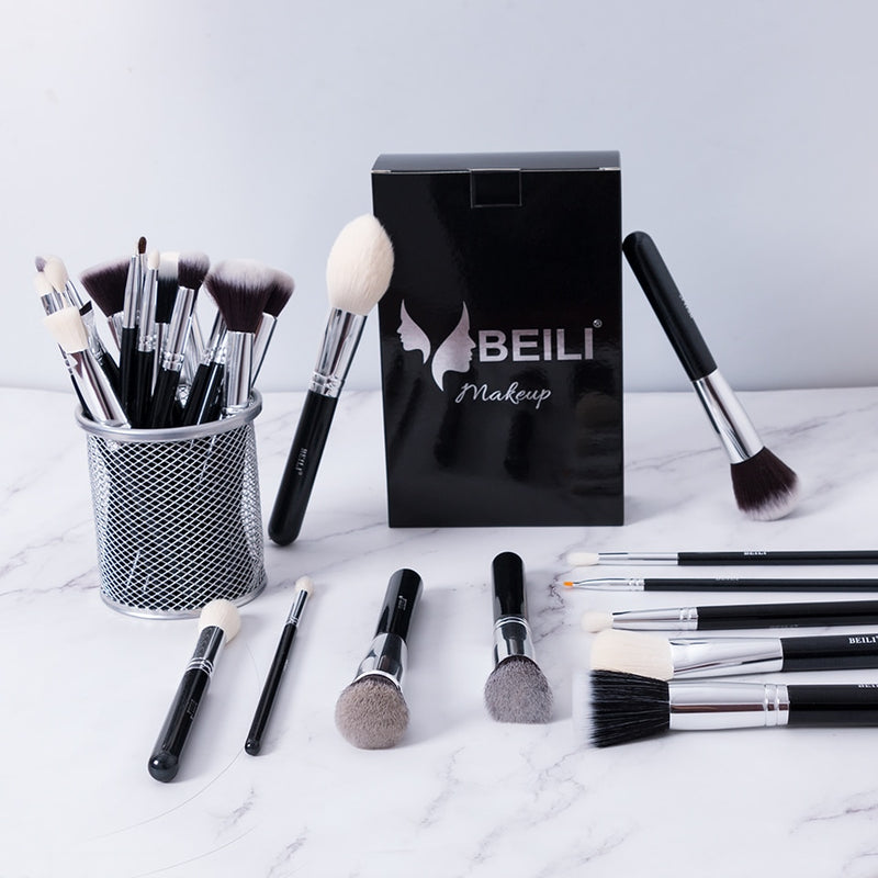 Complete Professional Makeup Brushes set Foundation Powder Concealer Contour  Eyes Blending brush