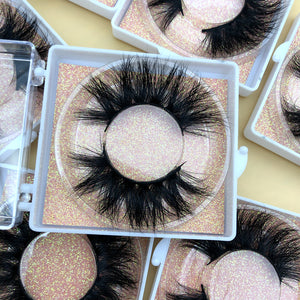 50 pairs 5D Mink Lashes Dramatic Lashes 35 styles Square box