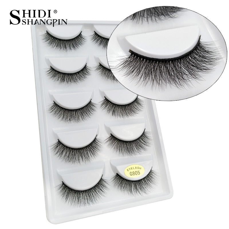 50 pairs Eyelashes Wholesale Mink Eyelashes