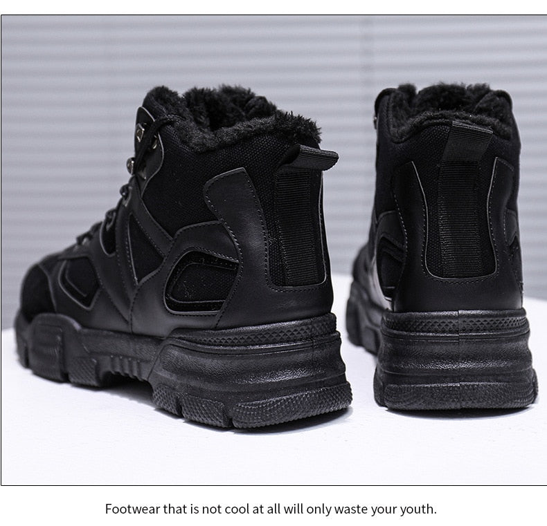 Warm Snow Boots Anti-skid Winter Sneakers
