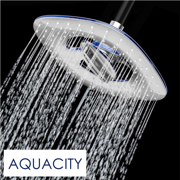 Chrome Finish Waterfall Square Shower Head