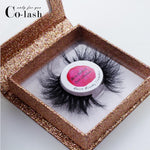 False Eyelash  logo stickers