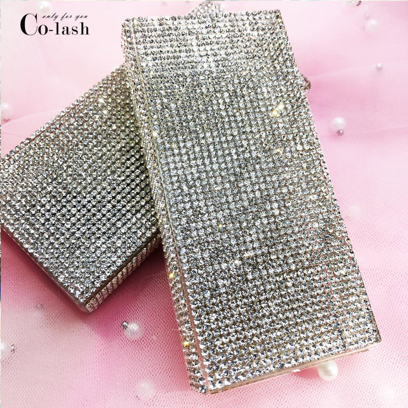 diamond  eyelash packaging box empty wholesale