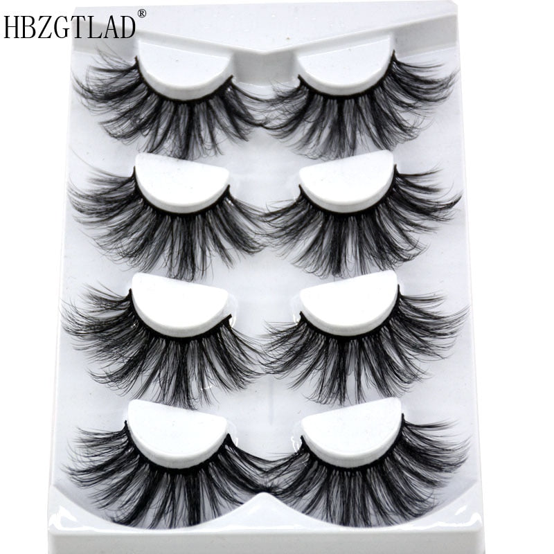 6D New 25mm Mink Eyelashes Handmade- USA
