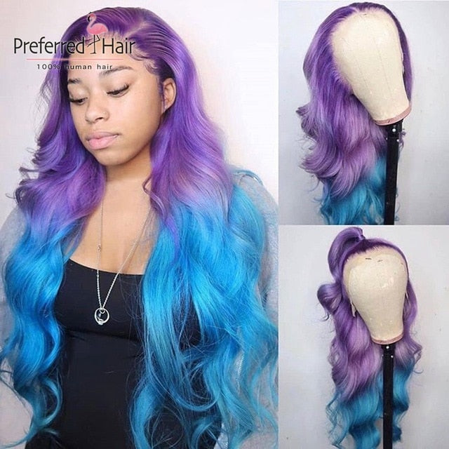 Brazilian Full Lace Wig Glueless Lace Front - Neshaí Fashion & More