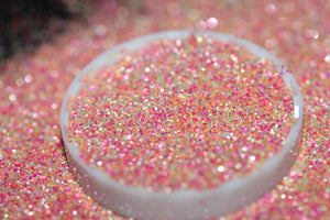 raw material Loose Craft Neon Matte Glitter