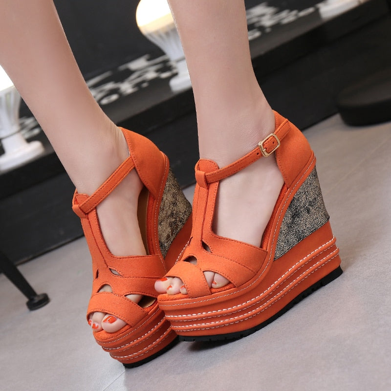 16cm  Platform Sandals Color Various