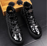 rivet boots Men's Luxury sneakers color option 1