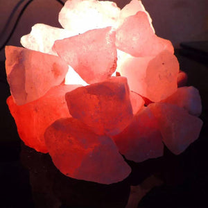 Natural Pink Himalayan Rock Salt Chunk For DIY Decorate