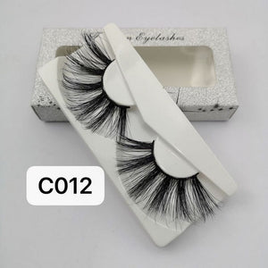 20Pairs 30mm extra length minks