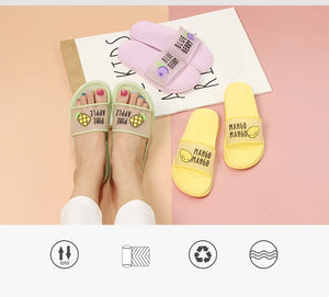 Fruit Jelly Slides Sandals