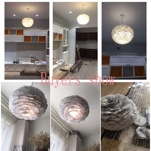 Feather Vintage Loft Light Fixtures LED