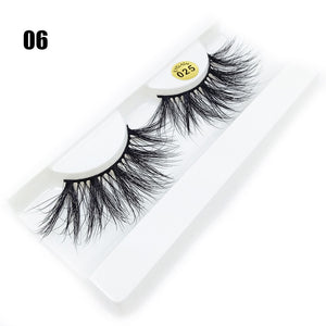 3D Dramatic lashes