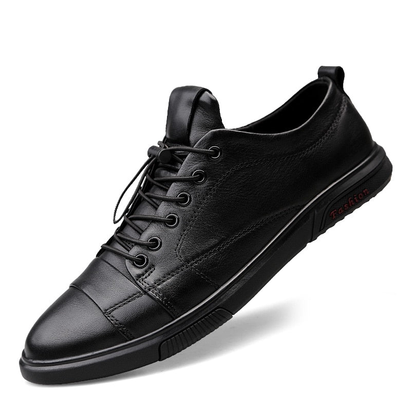 leather oxfords Italian style- mens sizes - Neshaí Fashion & More