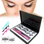 8Pcs/box 3D Magnetic Eyelashes -usa
