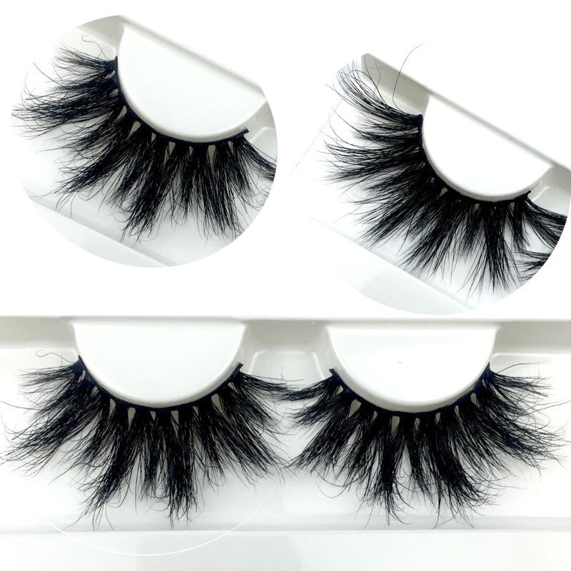 25mm Makeup 3D Mink Lashes-usa