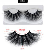 25mm Makeup 3D  Lashes- HBZGTLAD - Neshaí Fashion & More