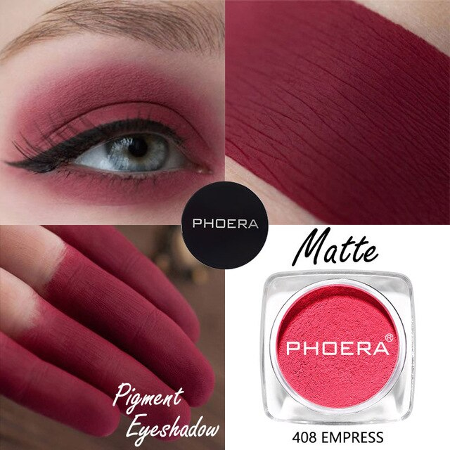 PHOERA 12 Colors Matte Eye Shadow Powder