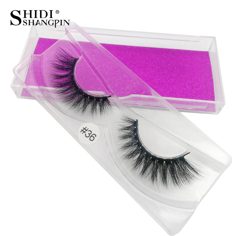 USA- Handmade 3d mink lashes 1 pair